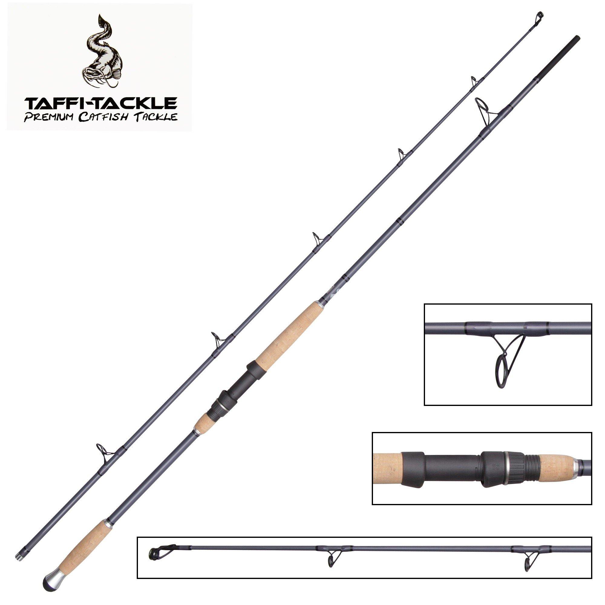 Taffi Tackle Unlimited – Caña de Pesca (2,60 m, 100 – 300 g, Pesca ...