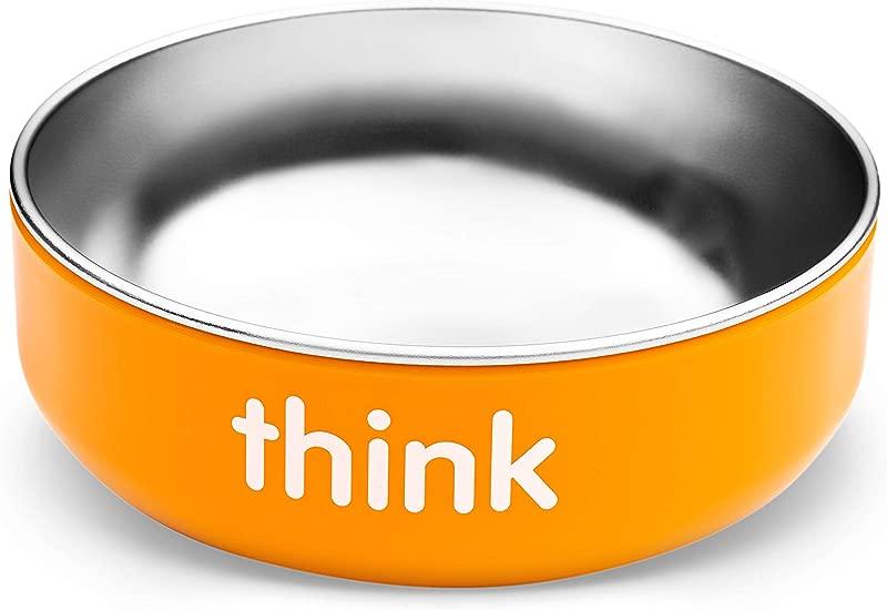 Thinkbaby Low Rise BPA Free Baby Bowl Orange