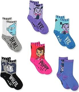 Vampirina Girls Toddler 6 pack Crew Socks