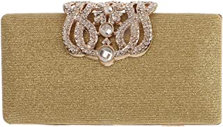 Lovoski Evening Handbag Party Clutch Purse,Make-up Pouches with Metal Chains Replacement Shoulder Bags for Women