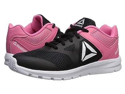 Reebok Kids Rush Runner (Little Kid/Big Kid) (Black/Pink) Girls Shoes
