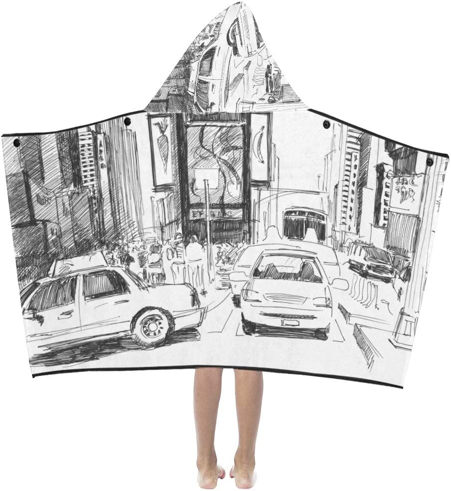 JIAJIA Ranking TOP3 Kid Blankets excellence for Boys City Scene Street Buildings with Ki