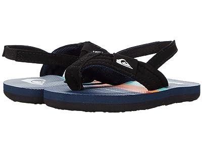 Quiksilver Kids Molokai Layback (Toddler) (Blue/Blue/Blue 1) Boys Shoes
