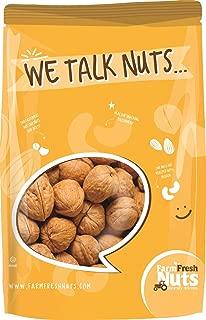 WALNUTS In Shell- JUMBO Natural California Walnuts- Great Source of Omega 3 -!! FRESH NEW CROP !! (2 LB)