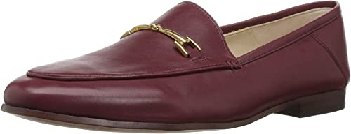 Sam Edelman Wohommes Loraine Loafer, Beet rouge Leather, 9 W US