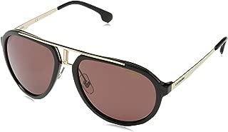 Carrera Men's CA1003/S Aviator Sunglasses, 58 mm