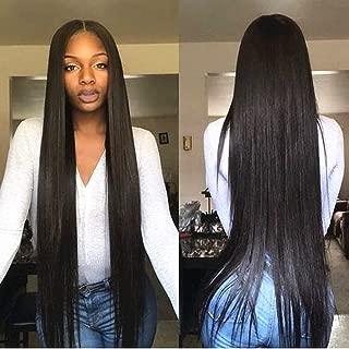 JinXiu 7a Grade Brazilian Straight Virgin Human Hair Bundles 50g/bundle Deal 100% Unprocessed Top Quality Human Hair Extensions Natural Color (50g/bundle 16 16 18 20)