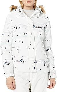 ROXY Snow Junior's Jet Ski Jacket, Bright White