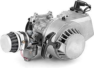 Motorfiets Start Motor Motor, Motorfiets Inbouwen 47cc 49cc 2-takt Kleine Motorfiets Motor, 2-takt Trek Start Motor Motor ...