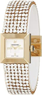 Swarovski Women's Silver Dial Metal Band Watch - 1000676