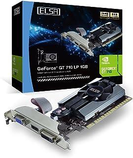 ELSA GeForce GT710搭載 グラフィックスボード ( DDR3 2GB / ロープロ対応 / 静音 / マルチモニター出力対応 ) GD710-2GERL