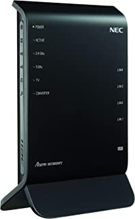 NEC 11ac対応 1300+600Mbps 無線LANルータ(親機単体)Aterm WG1900HP2 PA-WG1900HP2