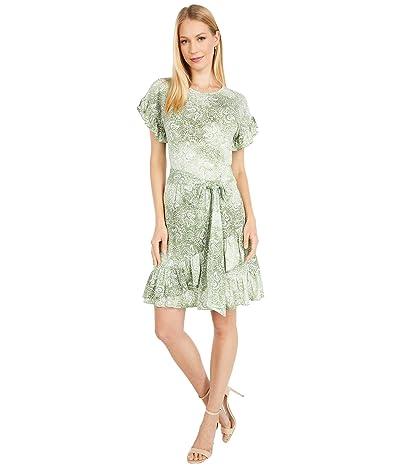 MICHAEL Michael Kors Paisley Ruffle Wrap Dress Women