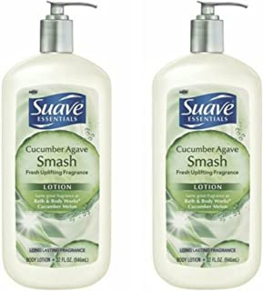 Suave Body Lotion - Advanced Therapy - 32 oz (Cucumber Agave Smash - 32 oz, 2 PK)
