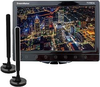 カーテレビ カーTV 10.1インチ フルセグ 長尺ロッドアンテナセット 車載テレビ 大画面 HDMI スタンド付 「TV101B」