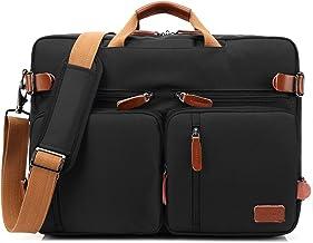 کیف دستی کیف مسافرتی کوله پشتی کوله پشتی کمربند کیف چرم کیف لباسی کیسه های کیف دستی کیسه های مسافرتی چند منظوره مناسب برای لپ تاپ های 17.3 اینچ برای مردان / زنان (سیاه)