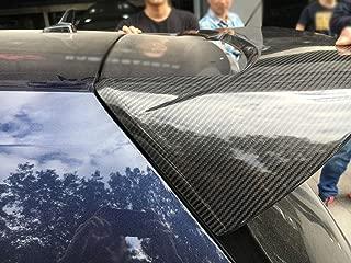 TGFOF Carbon Fiber Rear Roof Spoiler for Volkswagen VW Golf 7 MK7 R GTI Hatchback 2014-2018