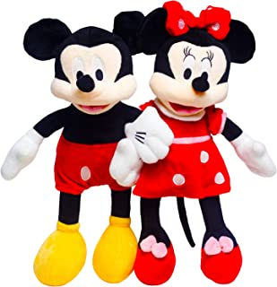 GOOSEN78 Mickey Mouse Mickey and Minnie, Plush Toy, Stuffed Animal, Gifts for Kids, 16
