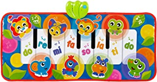 Playgro Jumbo Jungle Musical Piano Mat, Multicolour