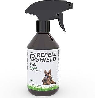 Repell Shield Spray Repelente para Perros - Ahuyentador de Perros Natural - Spray Antimordeduras Perros para Exteriores e ...