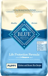 Blue Buffalo Life Protection Formula Puppy Dog Food – Natural Dry Dog Food for Puppies..