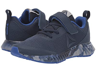 Reebok Kids Flashfilm Runner ALT (Little Kid/Bid Kid) (Cobalt/Pewter/Cobalt) Boy