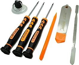 Jakemy iPhone Repair Tool Kit Multi-Purpose Tools Set for Smart Phone Tablet and Mobile Electronics Maintenance 7 in 1 Screwdriver Multi Tool Set
