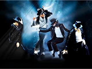 Michael Jackson 3D Poster Wall Art Décor Print | King of Pop Moonwalk Music Star Tribute | 11.8x15.7 | 3D Lenticular Holographic Posters | Collectible Fan Memorabilia Gifts | Cool Rare Room Picture