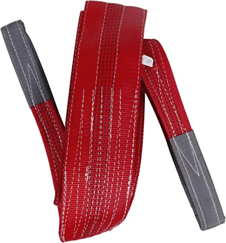 SPARTAN RLSS_3 3 Meter 5 Ton Lifting Sling Strops (Red)
