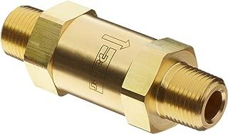 Parker C Series Brass Check Valve, 0.33 psi Cracking Pressure, 1/4