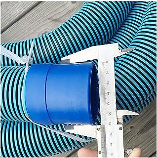 YANFEI pool hose プール吸引パイプ吸引機ホース自己浮遊下水管、ダブル、厚、2.5インチ (Color : 20m)