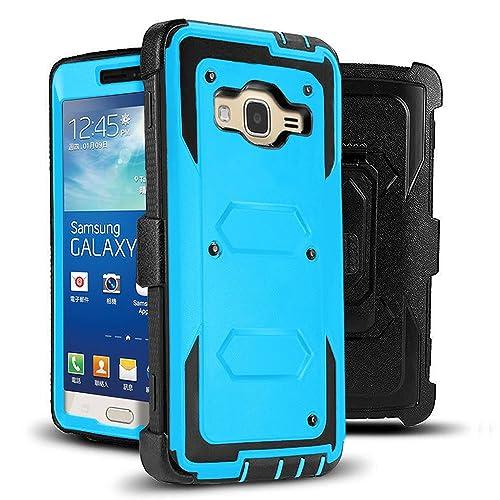 competitive price 511c3 ce7b3 Heavy Duty Phone Case Galaxy Grand Prime Phone Case: Amazon.com