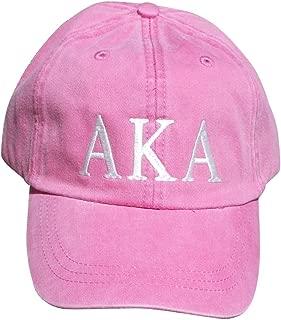 Womens Alpha Kappa Alpha Baseball Cap