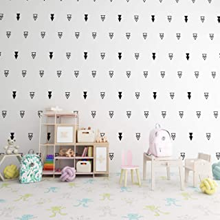 black triangle wall stickers