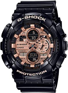 Casio G-Shock Special Color GA-140GB-1A2DR Analog Quartz Black Resin Men's Watch