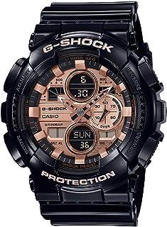 ساعة جي شوك من كاسيو، ساعة انالوج رقمية بمينا بني للرجال-GA-140GB-1A2DR (G1022)