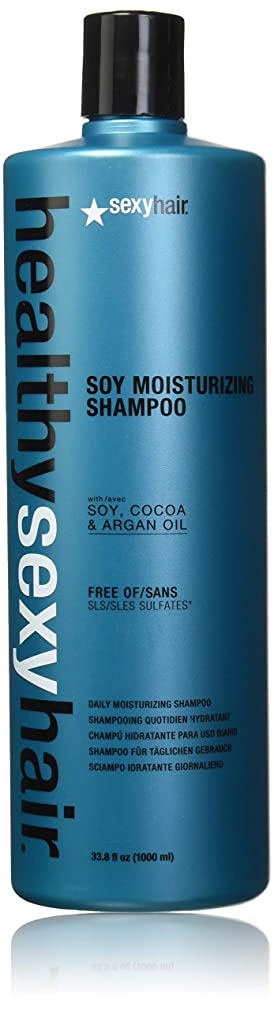 水曜日ひそかに千Healthy Sexy Hair Sulfate-Free Soy Moisturizing Shampoo[並行輸入品]