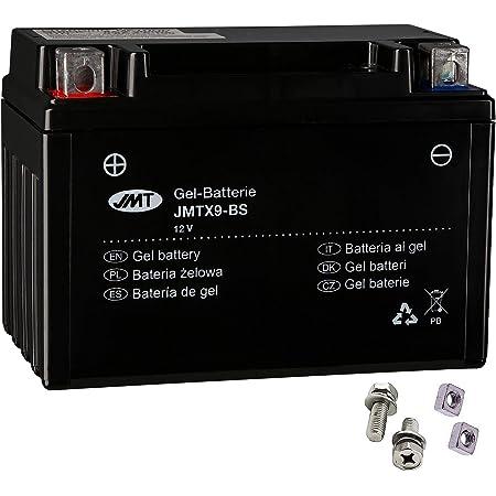 Ytz10s Gel Batterie Für An 400 Burgman Baujahr 1999 2016 Von Jmt Auto