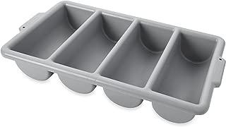 4 compartment cutlery box