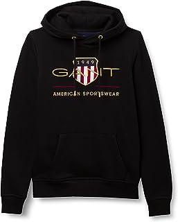 GANT Men's Archive Shield Hoodie Hooded Sweatshirt