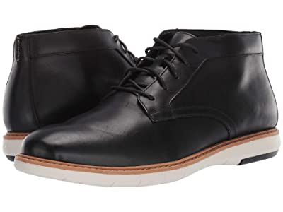 Clarks Draper Mid (Black Leather) Men