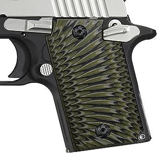 Cool Hand G10 Grips for Sig Sauer P938, Sunburst Texture