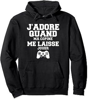 Citation Drôle Video Gaming Pour Petit Ami De Video Gamer Sweat à Capuche