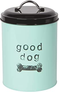 Now Designs 5062003aa Dog Biscuits Tin with Lid, Good Dog Design (Renewed)