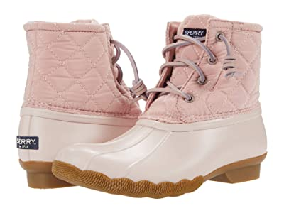 Sperry Kids Saltwater Nylon Quilt (Little Kid/Big Kid) (Blush) Girl