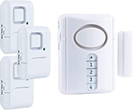 GE Personal Security Alarm Kit, Includes Deluxe Door Alarm with Keypad Activation and..