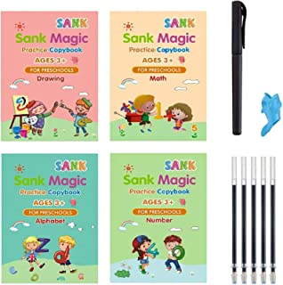 CLEKOD Magic Copybook with Pens for Kids