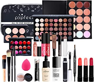 Professional Makeup Set,MKNZOME 24 Pcs Cosmetic Starter Kit With Storage Bag Portable Travel Make Up Palette Birthday Xmas...