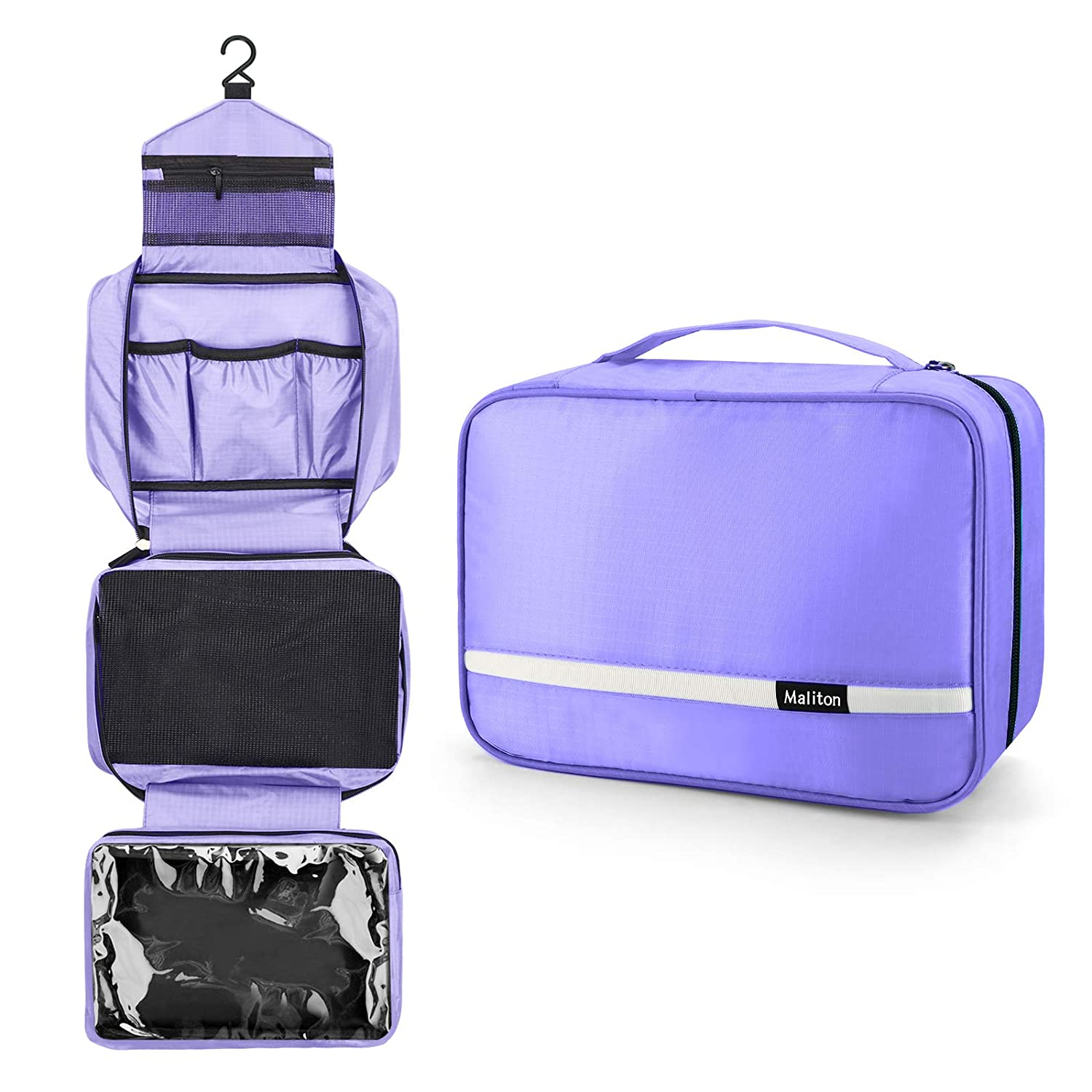 Travel Toiletry Bag for Maliton Women Deluxe mart Hanging with