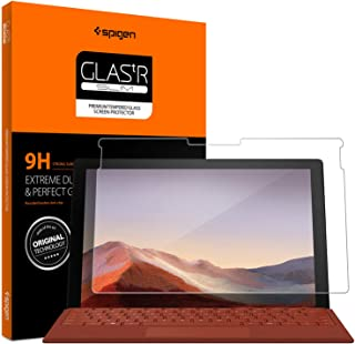 Spigen GLAStR Slim designed for Microsoft Surface Pro 7 and Surface Pro 7 PLUS tempered Glass Screen Protector [Case-Frien...